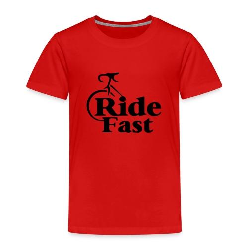 Ride Fast Shirt für Radfahrer. - Kinder Premium T-Shirt