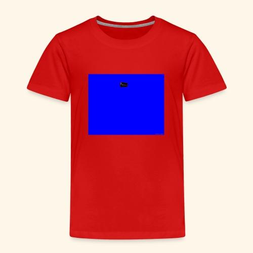 pucci blue background logo - Børne premium T-shirt