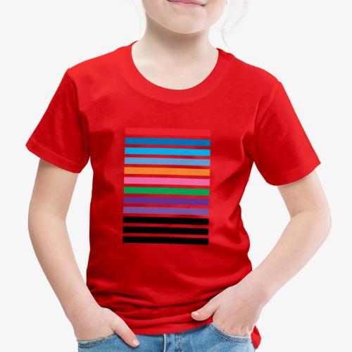 Lines - Maglietta Premium per bambini