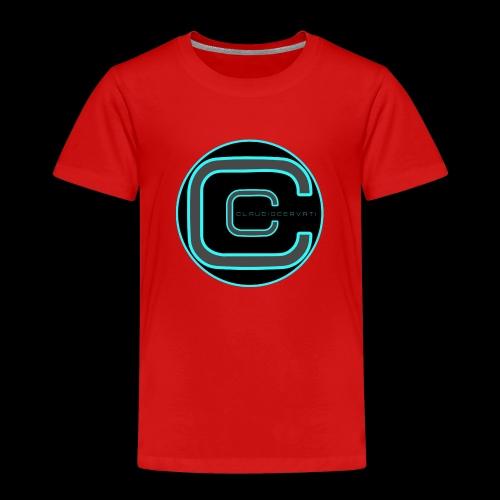 CLAUDIOCERVATI - Maglietta Premium per bambini