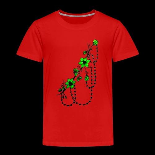 flower art - Kids' Premium T-Shirt