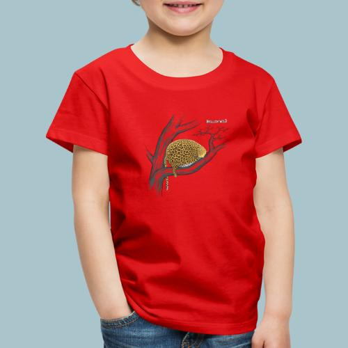 Rollin' Wild - Leopard on tree - Kids' Premium T-Shirt