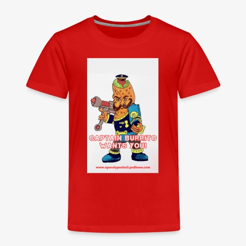 Captain Burrito - Kids' Premium T-Shirt