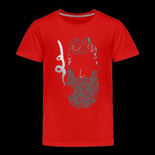 Hipster Bart - Kinder Premium T-Shirt