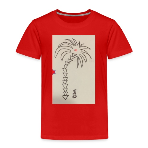 08 Pineapple - Kinder Premium T-Shirt