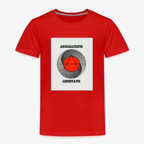 AEQUALITATIS LIBERTATIS - Kinder Premium T-Shirt