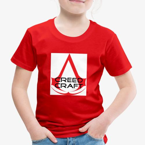 New CreedCraft logo - Kids' Premium T-Shirt
