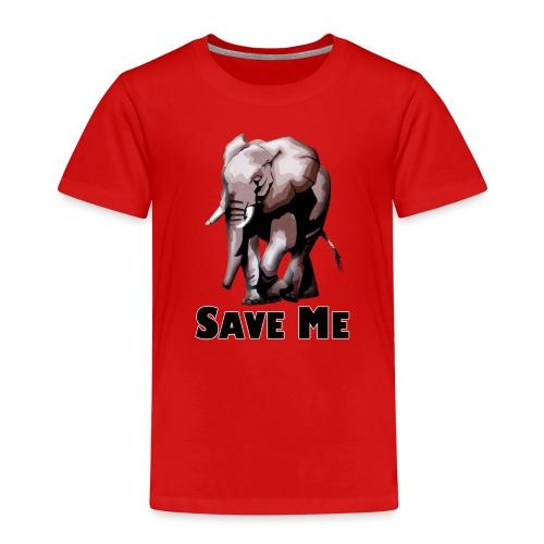 Elefant - SAVE ME - Kinder Premium T-Shirt
