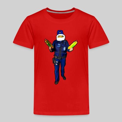 Poliisi-Ankka - Lasten premium t-paita