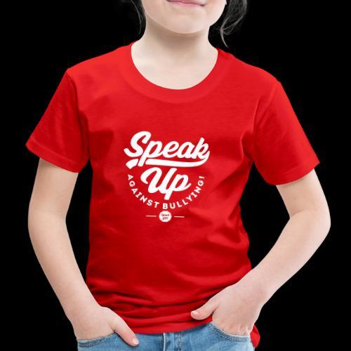 AGAINST BULLYING WHITE - Premium-T-shirt barn