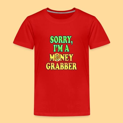 Money Grabber - Maglietta Premium per bambini
