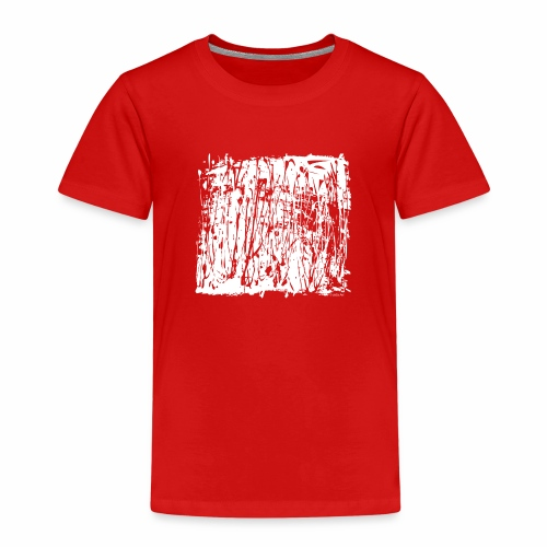 Paint Blob White - Kids' Premium T-Shirt