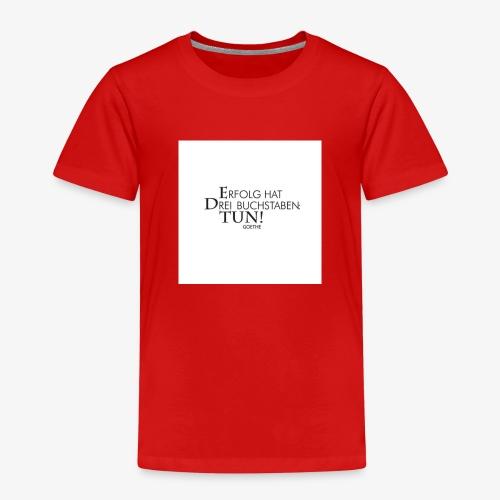 8ace1900eb4d5bf23b76525b4b2705f0 goethe quotes vo - Kinder Premium T-Shirt
