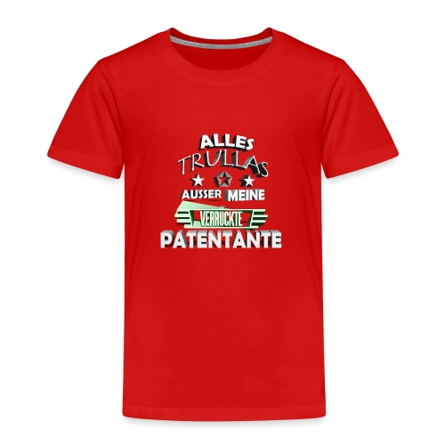 trullas patentante 3d - Kinder Premium T-Shirt