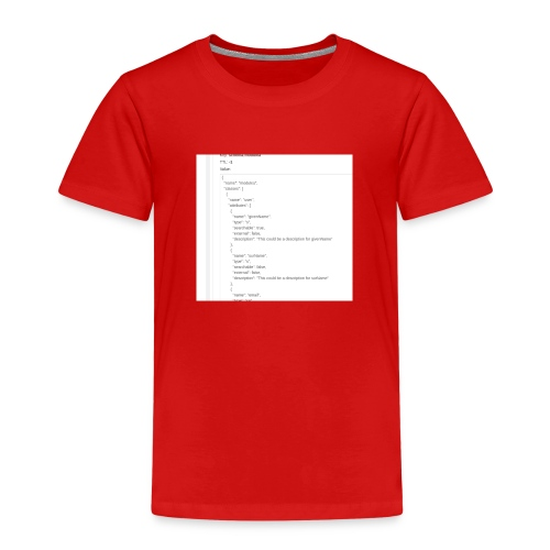 add01 - Kinder Premium T-Shirt