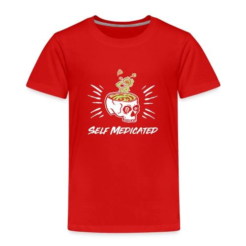 t shirt 2 kleuren wit gro - Kinderen Premium T-shirt