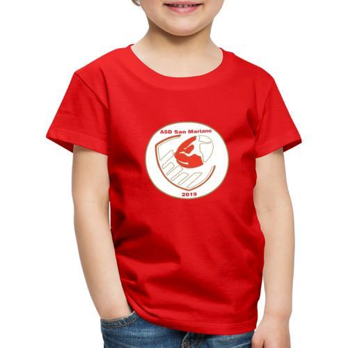 Logo ASD San Mariano 2019 - Maglietta Premium per bambini