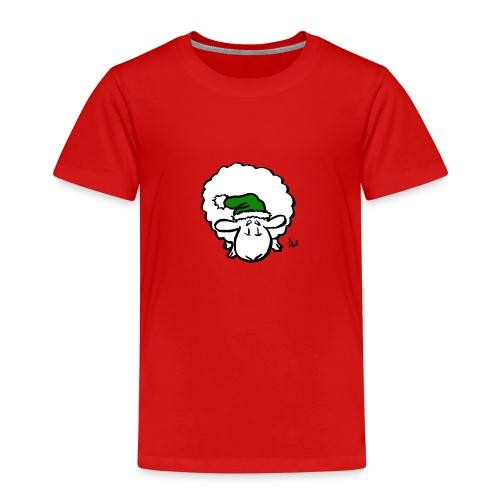 Santa Sheep (green) - Premium T-skjorte for barn