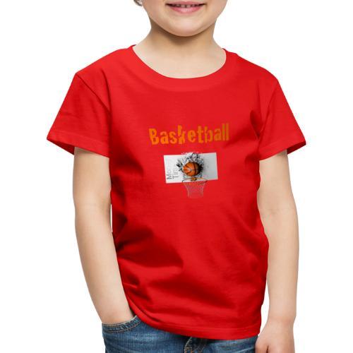 Money time BasketBall - T-shirt Premium Enfant