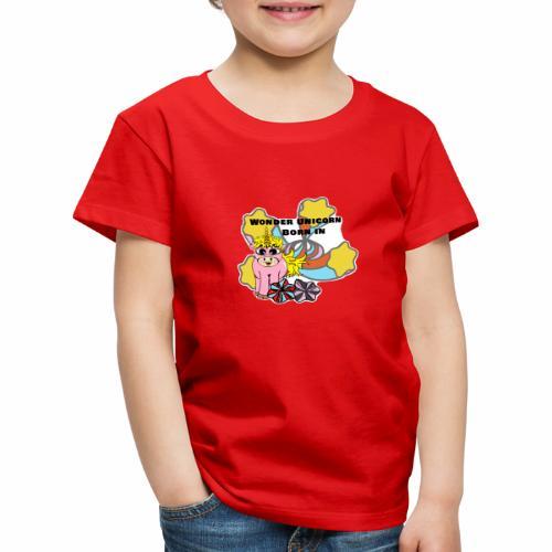 Merveilleuse Licorne née (pour fille) - T-shirt Premium Enfant