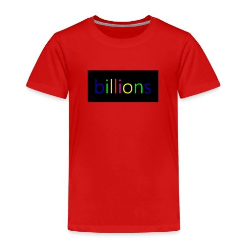 billions - Kinderen Premium T-shirt