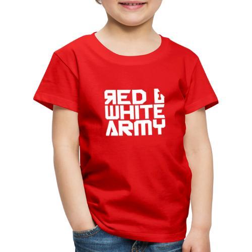 Red & White Army - Kids' Premium T-Shirt