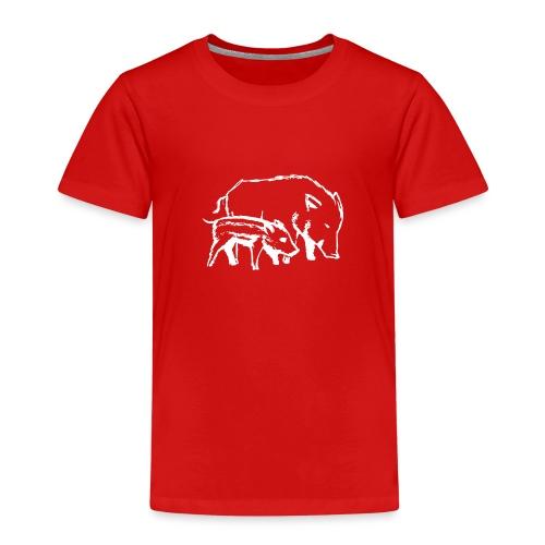 Schweine weiss - Kinder Premium T-Shirt