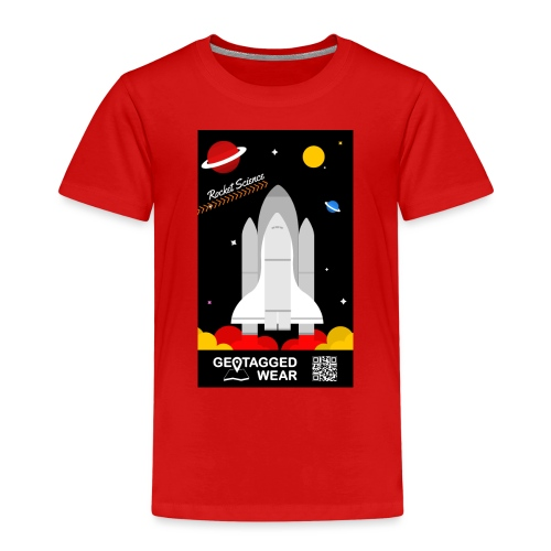 Rocket Science Kids - Kinder Premium T-Shirt
