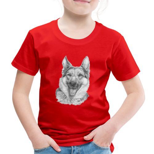 Schæfer German shepherd - Børne premium T-shirt