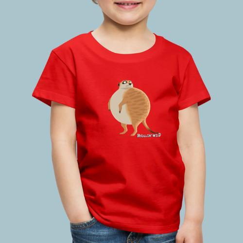 Rollin' Wild - Meerkat - Kids' Premium T-Shirt
