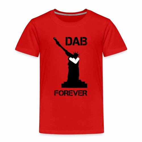 DAB FOREVER STATUE OF LIBERTY - Maglietta Premium per bambini