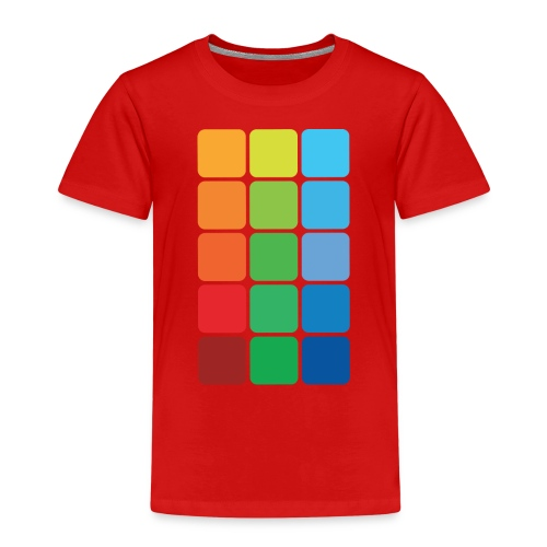Square color - Kids' Premium T-Shirt