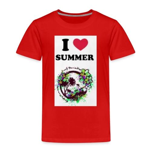 I love summer - Maglietta Premium per bambini