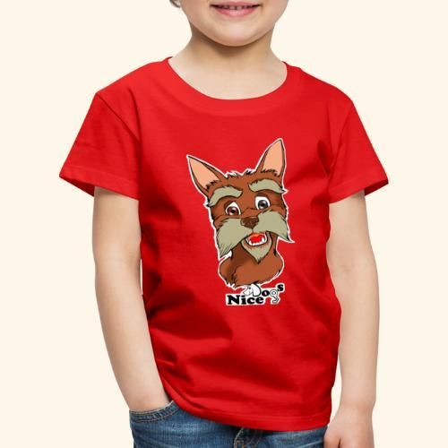 Nice Dogs schnauzer - Maglietta Premium per bambini