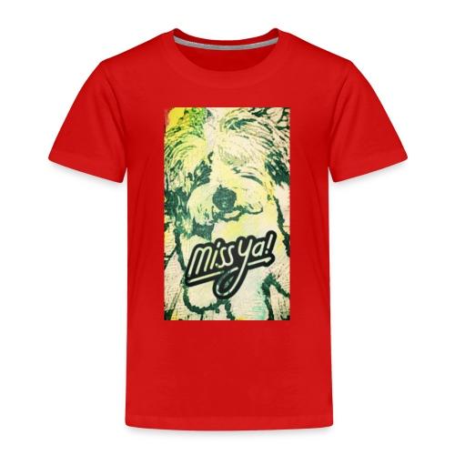 Musste, süsser Hund - Kinder Premium T-Shirt