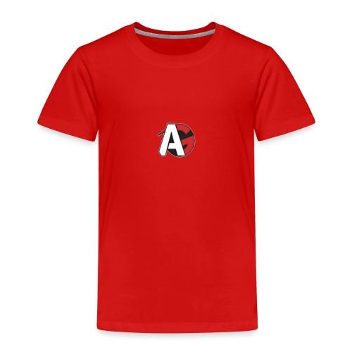 streaming loga AG - Premium-T-shirt barn