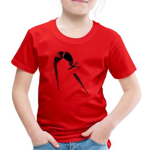 Greta FFF Fridays for future & Fridays for Hubraum - Kinder Premium T-Shirt
