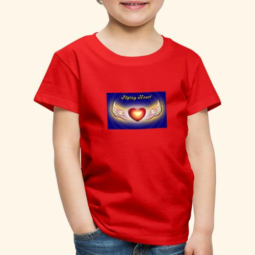 Flying Heart - Kinder Premium T-Shirt