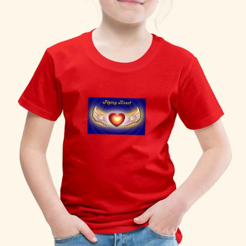 Flying Heart - Kinder Premium T-Shirt
