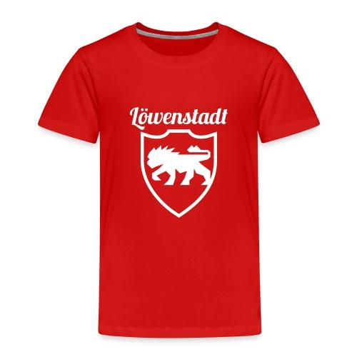 Löwenstadt Design 2 weiss - Kinder Premium T-Shirt