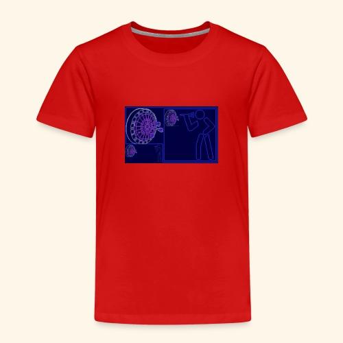 Dartblack BL b1 - Kinder Premium T-Shirt