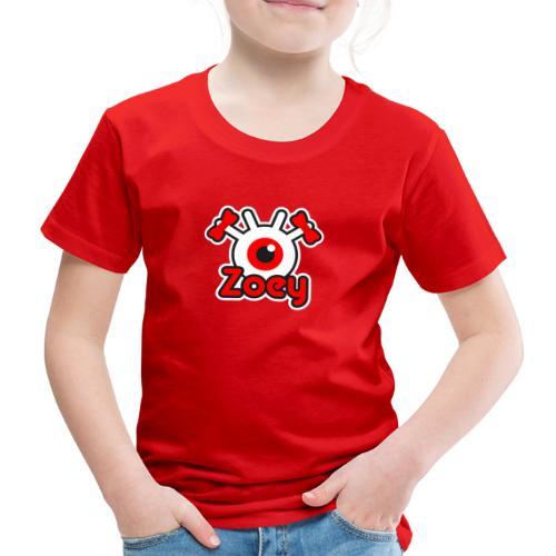 Zoey Label (Color) - T-shirt Premium Enfant