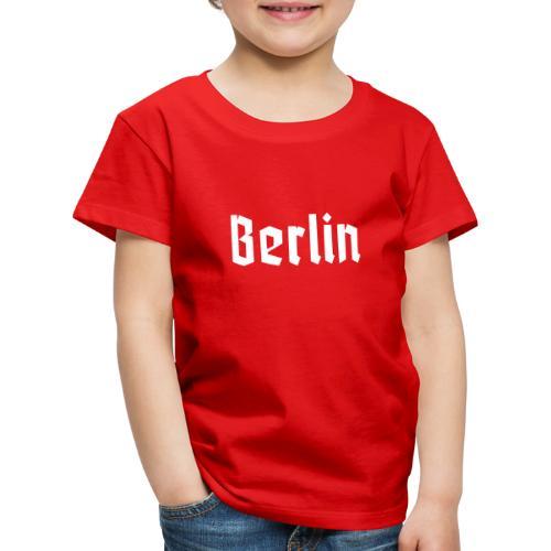 BERLIN Fraktur - Maglietta Premium per bambini