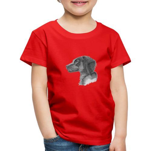 fieldTrialSpaniel - Børne premium T-shirt