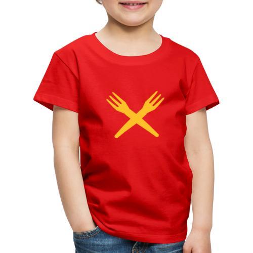 gekruiste frietvorken - trident - T-shirt Premium Enfant