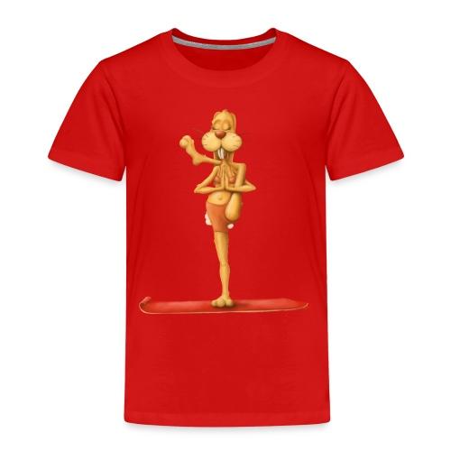Yoga - Rabbit - Kinder Premium T-Shirt