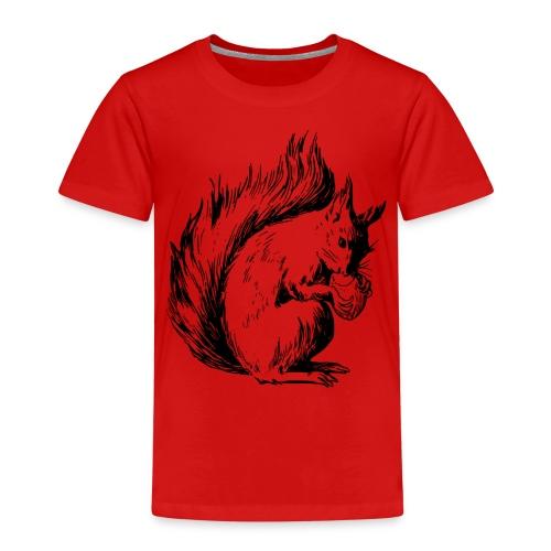 écureuil amandes - T-shirt Premium Enfant