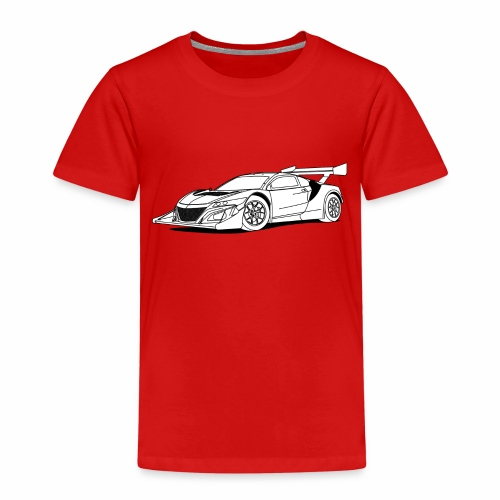 Concept Car White - Kids' Premium T-Shirt
