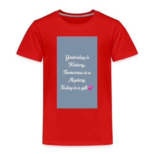 EFAFAEC9 B714 43F0 AB1D E5AD542F2593 - Kinder Premium T-Shirt
