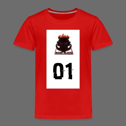 Boar blood 01 - Koszulka dziecięca Premium